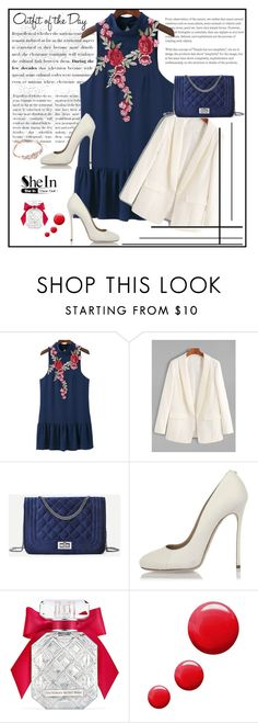 """""""SheIn XIII/2"""" by s-o-polyvore ❤ liked on Polyvore featuring Dsquared2, Victoria's Secret, Topshop and Petit Bateau"""