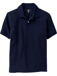 Boys Pique Uniform Polos