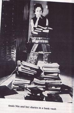 Anais Nin and her diaries