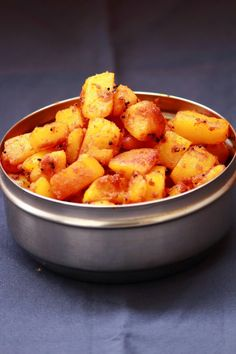 Potato roast / how to make potato roast / easy potato recipe / no onion no garlic recipe   Vegetarian Indian Recipes