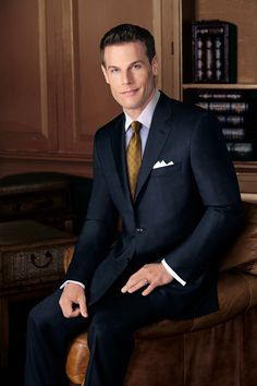 Signature Platinum 2-Button Wool Suits. The ultimate level in luxury.