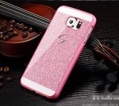 Bling Diamond Glitter S Logo Case For Samsung Galaxy S4 S5 S6 Note 4 NOTE 3 Cover Shining