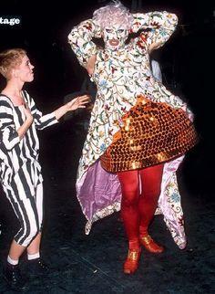 Vestuario de Mr. Pearl para Leigh Bowery