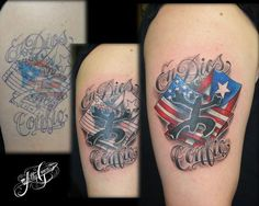 images of puerto rican tattoos   Puerto Rican Flag Tattoos Pic #16