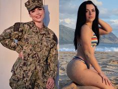 Beautiful badasses in (and out of) uniform Photos) Mädchen In Uniform, Mini Club Dresses, Female Soldier, Military Girl, Military Women, Girls Uniforms, Badass Women, Sexy Older Women, Girl With Hat