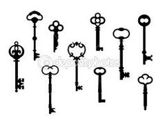 LOVE skeleton keys...gonna have one tattoed on me one day :)