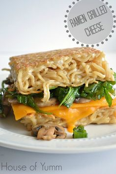 Ramen Grilled Cheese by House of Yumm plus 5 more kid friendly recipes