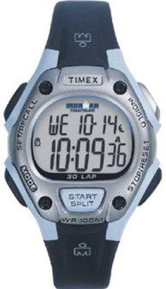 Timex Midsize T5E951 30-Lap Ironman Resin Strap Watch $33.84