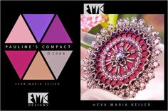 "Eva Maria Keiser Designs: Keiser Designs Colorways: ""Pauline's Compact "" | 2..."