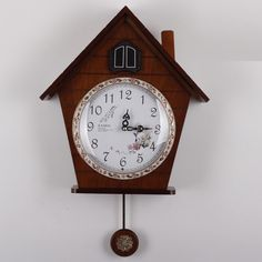 FREE SHIPPING wall clock KAIROS cuckoo clock high quality / wooden cuckoo clock / time bird the photo wall clock