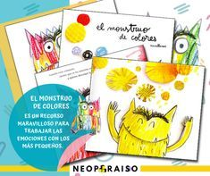 El Monstruo De Colores En Pdf El Monstruo De Las Emociones Pdf Desarrollo De La I Cuentos Para Niños Gratis Libros Gratis Para Niños Las Emociones Para Niños