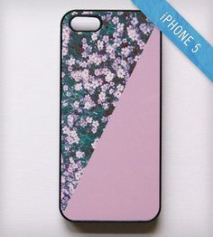 Lets run through fields of flowers. Flower iPhone 5 Case Pink by Blissful CASE