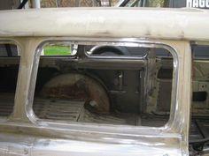 Passenger window