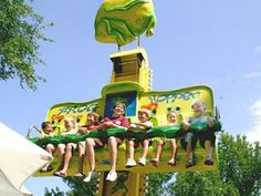 Amusement Attraction Free Fall Drop Tower Ride, Frog Hopper Ride