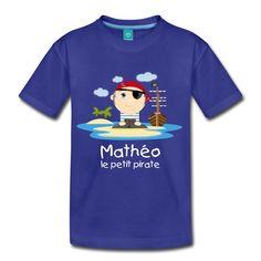 Tee Shirt le Pirate Min'Kids - Tee shirt Premium Enfant