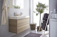 Le lavabo GODMORGEN apporte le calme et la sérénité dans votre salle de bain.