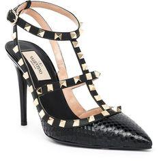 imitation louis vuitton shoes - christian louboutin Rockstud pointed-toe flats Grey wool black ...