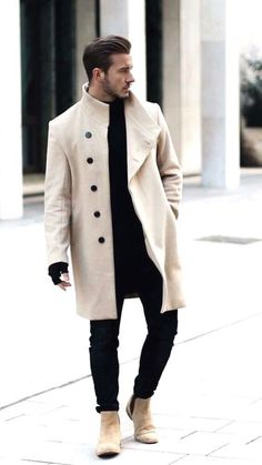 34 comfy winter fashion outfits for men in 2018 men clothes Mode Masculine, Herren Outfit, Fall Outfits For Work, Fashion Mode, Street Fashion, Urban Fashion, Estilo Fashion, Fashion 2016, Fashion Styles