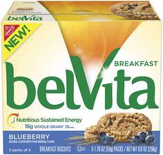Dietitian's Top Pick: Belvita Blueberry Breakfast Biscuits