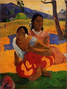 (♥) When are you Getting Married? (Nafea Faaipoipo), 1892  Paul Gauguin