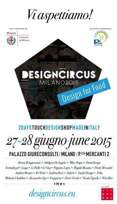 #designforfood ingresso libero 27-28 Giugno #PalazzoGiureconsulti, piazza Mercanti 2 #Milano dalle ore 10.00 alle ore 19.00