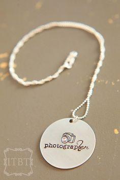 PhotograpHER Necklace - Photographer Jewelry - Photographer Gift Idea