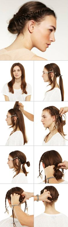 """Here we go with our photo tutorial """"Summer Braid"""". #nivea #hair #style"""