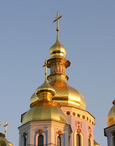 St. Michael's Monestary in Kyiv, Ukraine