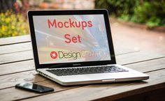 Mac Mockups Set