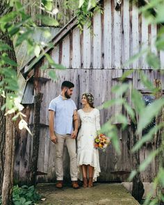 sweet little backyard homespun wedding