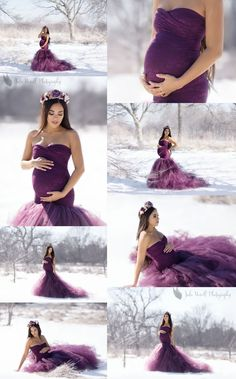 We could seriously photograph this beautiful mama all day long. We met her sweet new baby girl about a month ago, but we couldn't pass up sharing this gorgeous maternity session with you. This mama rocked it all! Angie, thank you for braving the cold snowy day with us, it was totally worth it!