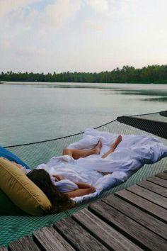 lakeside living -- meet me at the lake -- hammock -- nature photography -- calming photos