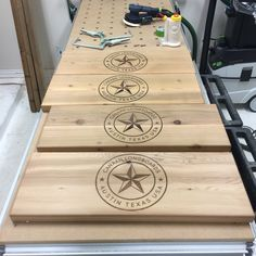 Tops to our Longboard displays.