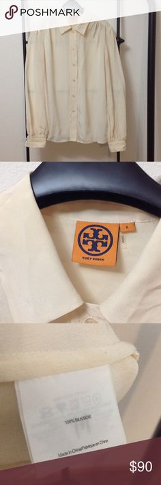 Tory Burch Silk Blouse Tory Burch Silk Blouse. New without tags. Tory Burch Tops