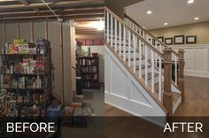 Naperville Basement Before & After :http://www.sebringservices.com/portfolio/naperville-basement-before-after/