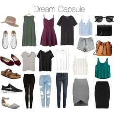 Dream capsule by jessicafk on Polyvore featuring мода, H&M, Gap, Miss Selfridge, Topshop, rag & bone, MANGO, Splendid, Manon Baptiste and Yves Saint Laurent