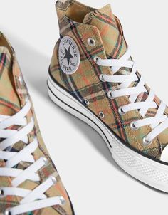 4cca250384aab4 CONVERSE CHUCK TAYLOR ALL STAR platform high-top trainers Outfits With  Converse