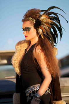 Custom Isadora Style Headdress by RoosterBaby22 on Etsy, $220.00