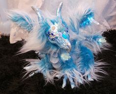 Pea Drake Asian Dragon Art Doll OOAK by Eviecats on Etsy