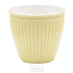 GreenGate latte cup Alice yellow SS17