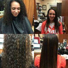 By Salon Trendz Japanese Straightening, Hair Straightening, Frizz Free Hair, Orland Park, Damaged Hair, Four Square, Salons, Short Hair Styles, Hair Makeup