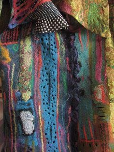 Andrea Graham: wearable felt art