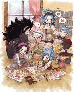 Gajeel x Levy / Fairy Tail Fairy Tail Levy, Fairy Tail Ships, Rog Fairy Tail, Fairy Tail Amour, Anime Fairy Tail, Fairy Tail Comics, Fairy Tail Funny, Fairy Tail Art, Fairy Tail Guild