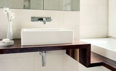 Robinson van Noort - Specialist residential interior designers for family homes and private villas. Providing Interior detailing and design specifications. Modern Family, Home And Family, Bathroom Interior Design, Joinery, Sink, London, Contemporary, Home Decor, Carving