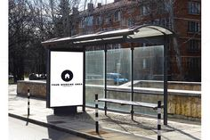 Bus Stop Mockup by graphichouse on Creative Market