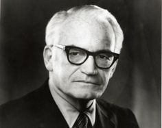 "Barry Goldwater ""Mr. Conservative"" too extreme for the 1960's:  ""Today's so-called 'conservatives' don't even know what the word means. They think I've turned liberal because I believe a woman has a right to an abortion. That's a decision that's up to the pregnant woman, not up to the pope or some do-gooders or the Religious Right. It's not a conservative issue at all."""