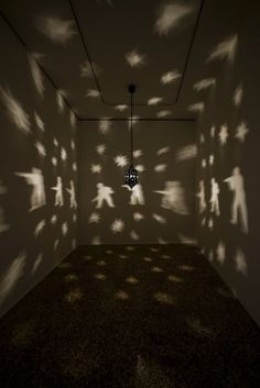 very good shadow theatre intro this wuld be: n Misbah - Mona Hatoum - 2006-2007