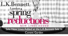 Sale: Spring Reductions at L.K.Bennett Covent Garden