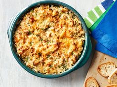 Hot Ranch Crab Dip recipe from Food Network Kitchen via Food Network