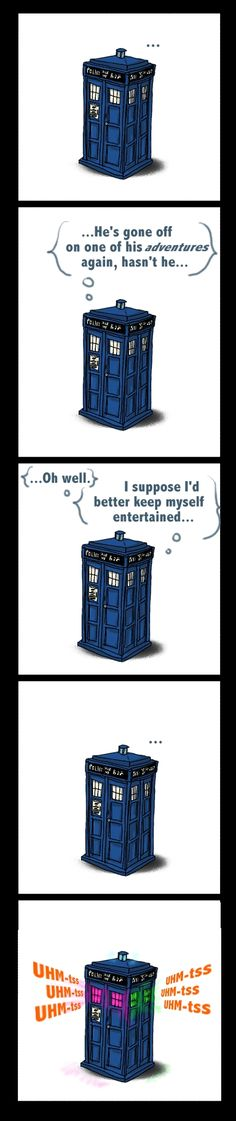 TARDISco by ~lady-of-many-hats on deviantART. My new FAVORITE doctor who fan art. Lol! The tardis parties while the doctor is away.